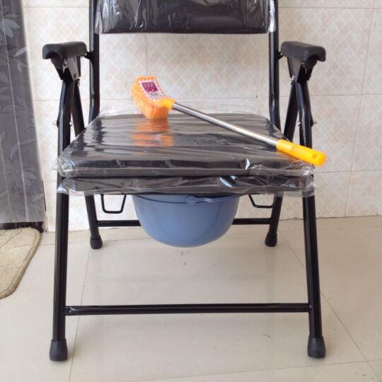 爔锐喷涂坐便椅坐厕椅老人孕妇坐便器可折叠免安装残疾人座便椅移动马桶椅 晒单图
