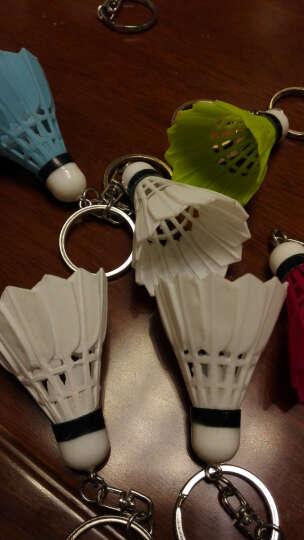 佛雷斯羽毛球小挂件迷你饰品钥匙扣仿真羽毛球 白色一个 晒单图