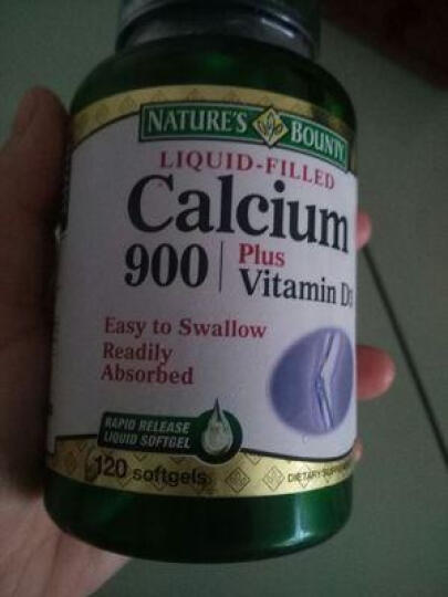 自然之宝(Natures Bounty) 提高免疫力改善睡眠成人中老年补钙美容养颜光泽发 维生素C-500缓释胶囊100粒 晒单图