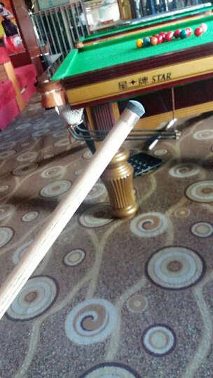 CUPPa CUPPA世霸黑八专用12mm皮头16彩黑8台球杆头多层枪头桌球用品 12mm(H硬性) 晒单图