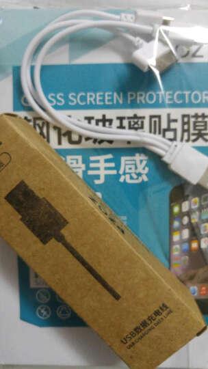 PZOZ 全身手机钢化玻璃膜 前后玻璃彩膜贴膜适用于苹果iphone5s/5/se钢化膜 泼墨盾牌-DF07 晒单图