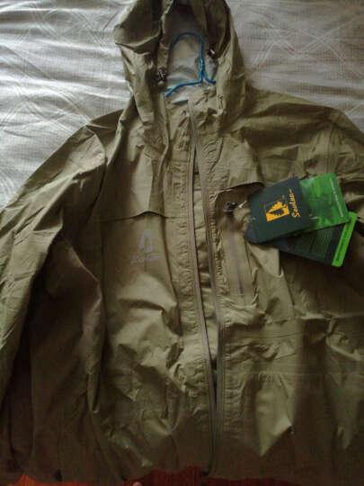 sevlae圣弗莱春夏款男式防水透气单层冲锋衣户外风衣 C7151 黄色 XXL/185 晒单图