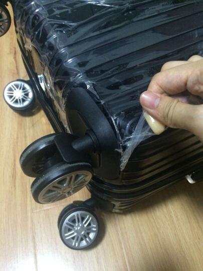 瑞士十字(SWISSWIN)商务拉杆箱20英寸登机箱万向轮男旅行箱女行李箱 黑色 20英寸 晒单图