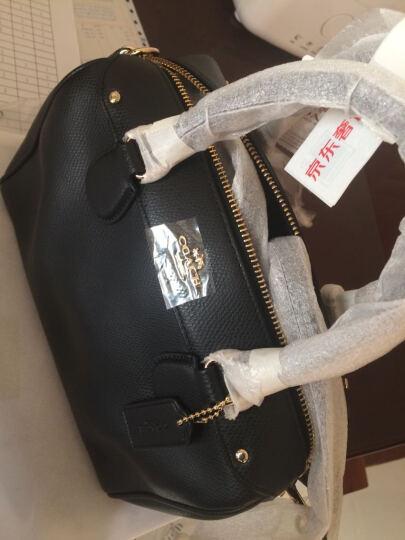 COACH 蔻驰 女款棕色皮革斜挎单肩手提包  波士顿桶包 小号 36624 IMSAD (F36624 IMSAD) 晒单图