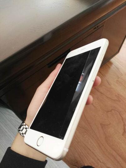 图拉斯 iPhone7/6s/8钢化膜苹果7Plus全屏全覆盖6D抗蓝光防爆玻璃手机贴膜 苹果7/8【黑色】蓝光款 晒单图