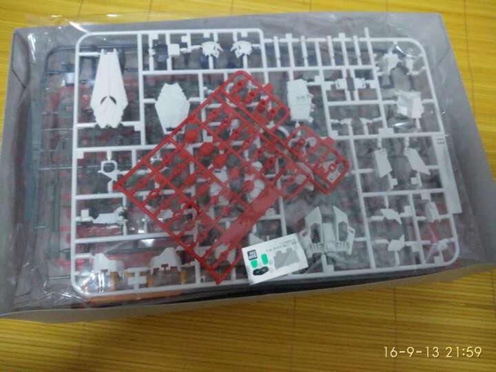 万代(BANDAI)高达GunDam拼插拼装模型玩具HGUC 1/144魔蟹敢达071693 晒单图