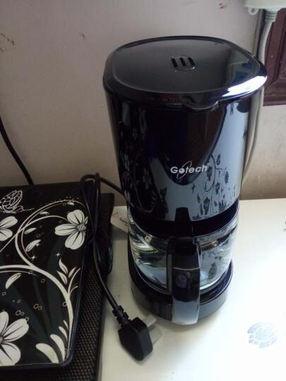高泰咖啡机美式家用小型办公室迷你全自动滴漏式小型泡茶煮咖啡壶 CM6669 白色 晒单图