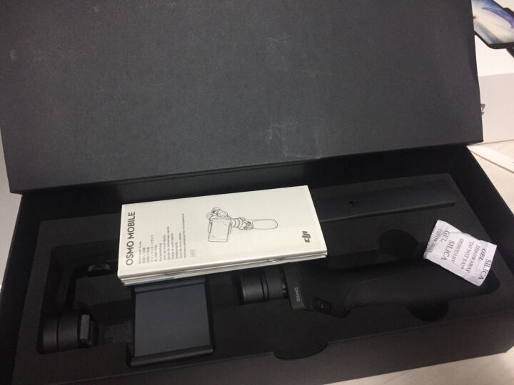 大疆(DJI) 新品大疆DJI OSMO+灵眸一体式智能手持云台相机 全新4K手持稳定器 自拍神器 曼富图流明LED灯 晒单图