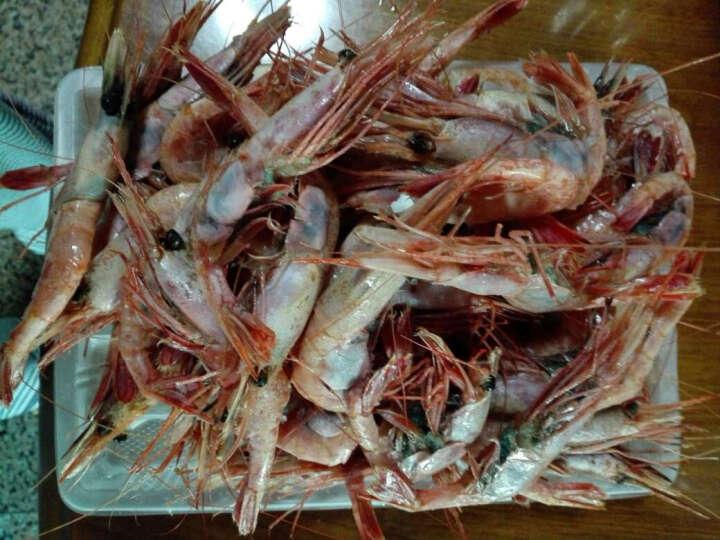 1号鲜客 俄罗斯带壳甜虾刺身 1kg 盒装 海鲜水产 晒单图