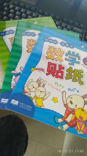 真果果贴贴纸全6册 学数学贴纸书 宝宝益智游戏启蒙早教图书籍 2-6岁儿童趣味粘纸贴 晒单图