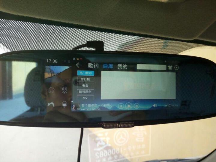 丁威特10英寸行车记录仪高清单双镜头4G智能后视镜导航带云电子狗测速汽车车载导航仪停车监控一体机 32G+10英寸全屏曲屏记录仪+无光夜视前录 标配 晒单图