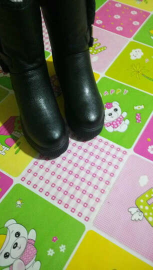 梵格鸟 冬季上新加绒加厚保暖雪地靴女时尚两穿女短靴 LJ2198-10黑色 38 晒单图
