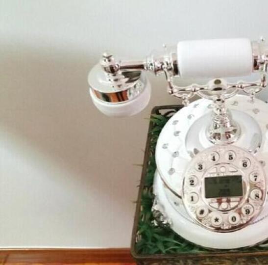悦旗 仿古电话机欧式老式复古电话机时尚创意家用座机中式固定电话机家居装饰品卧室客厅书房座机古董摆件 款式九免提背光版 晒单图