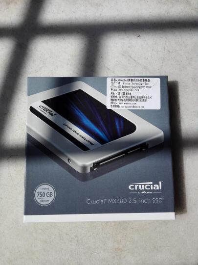 英睿达(Crucial)MX300系列 750G SATA3固态硬盘 晒单图