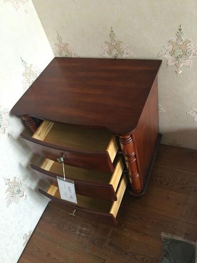 艾理思家具 实木床头柜 美式乡村床头柜 现货 晒单图