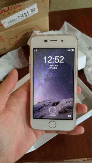 誉品(YEPEN)i6s 移动4G手机 智能手机 双卡双待 土豪金 晒单图