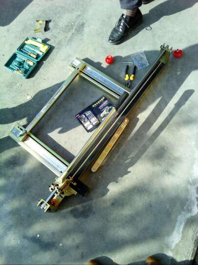 重型手动瓷砖切割机 多功能陶瓷瓷砖推刀 折叠式单轨石材切割机 地砖切割器 重型1200MM小全钢超长切割机不带移动滑轮 晒单图