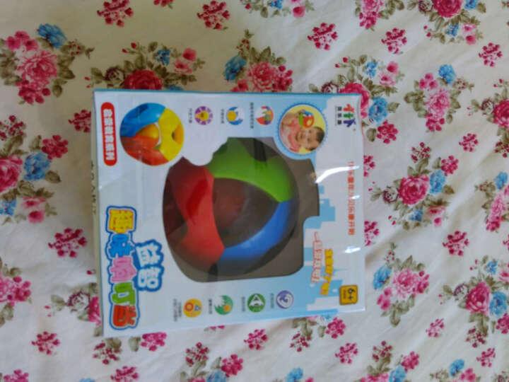 婴儿玩具 0-1岁儿童益智五彩感官球铃铛球手抓球6-12个月宝宝玩具 大号 晒单图