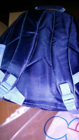 迪士尼(Disney)小学生儿童三层袋书包 男女孩米奇米妮冰雪奇缘减负护脊书包 送文具礼盒 超值款黑红色 晒单图