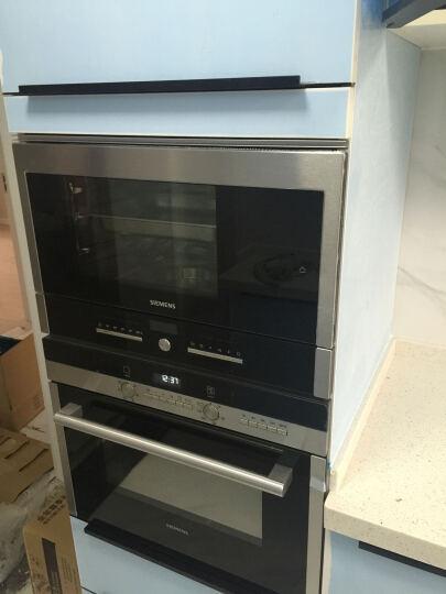 西门子(SIEMENS)8套 进口 除菌烘干嵌入式洗碗机SC73M610TI黑色面板预售 晒单图