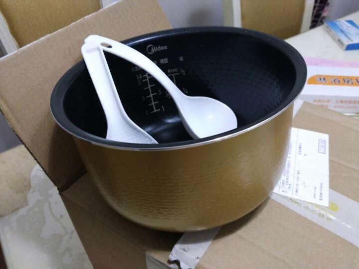 适用于美的电饭煲锅内胆原装厂3L4L5升配件黄晶蜂窝不粘锅 3L 晒单图