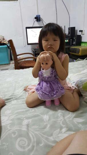 超级逗逗 会说话的智能娃娃 儿童玩具女孩洋娃娃 时尚关节学院风款7号 晒单图