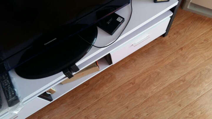 欧玥(ouyue) 电视柜 现代简约电视柜伸缩电视柜茶几组合套装田园液晶客厅电视柜 小户型+120钢化玻璃茶几 晒单图