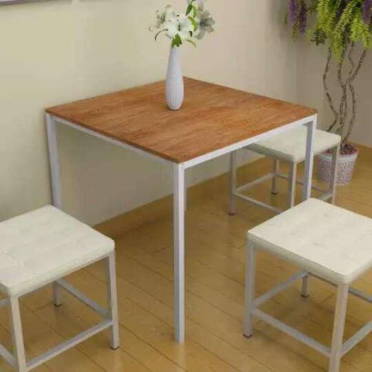 家乐铭品 方桌 餐桌边桌麻将桌书桌写字桌电脑桌 樱桃木 ZC804 晒单图
