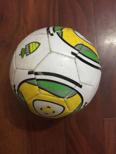 WITESS 足球3号儿童 标准4号5号教学比赛PU皮革 炫酷黄5号 晒单图