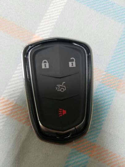 LUCKEASY 凯迪拉克钥匙包XTS ATSL CT6 CTS钥匙壳汽车改装钥匙套 B款水银灰 晒单图