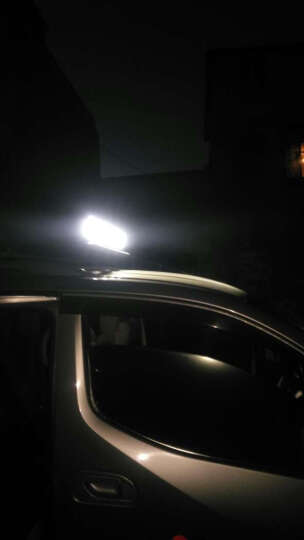 SCAR 越野车灯顶灯射灯LED探照灯汽车大灯前照灯改装灯货车灯车外灯辅助车灯通用配件 27W 泛光型射灯/个 方形 晒单图