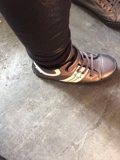 飞耀(FEIYAO) 童鞋儿童运动鞋男童女童棉鞋保暖加绒棉鞋2017冬季新款雪地靴 黑色 30码/内长约19CM 晒单图