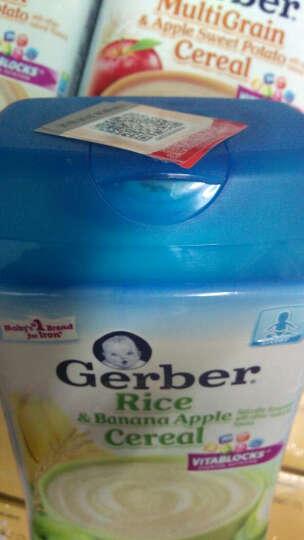 嘉宝(GERBER) 美国原装嘉宝gerber营养米粉1/2/3段227g宝宝辅食婴儿米糊含铁 米粉随机段数口味X3罐 晒单图