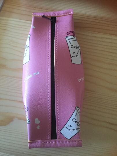 三年二班 笔袋 创意可爱零食笔袋 女 韩国大容量 文具袋学习用品铅笔袋 奶茶 C 晒单图