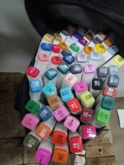 Touch liit6代六代双头油性酒精马克笔涂鸦漫画手绘设计马克笔 室内40色笔袋装 晒单图
