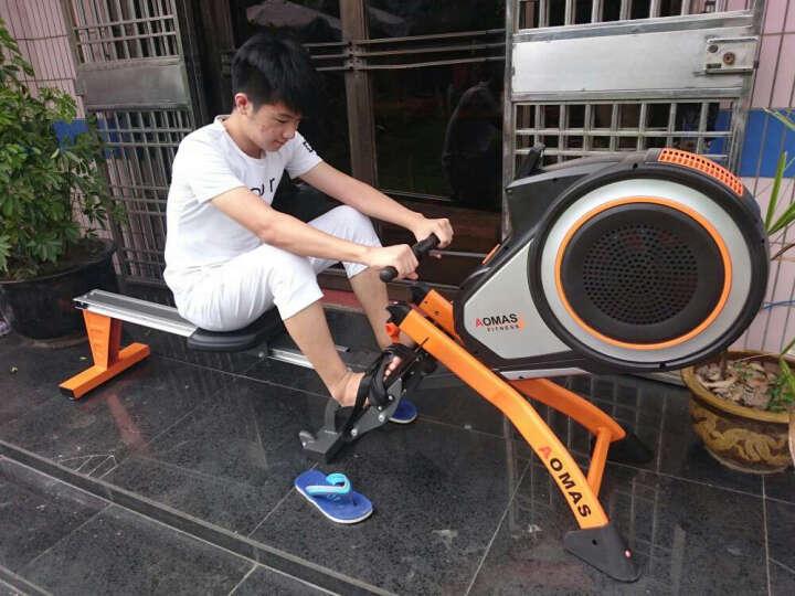 澳玛仕(AOMAS)划船机家用风阻划船器游泳机健身器材1503 活力橙 晒单图