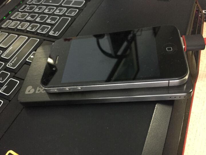 BOAS Boas 私人定制充电宝超薄 全金属快充移动电源苹果三星华为小米安卓手机通用 酷炫黑 晒单图