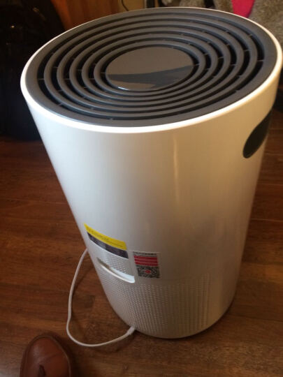 Hoover 胡佛迷你气净化器家用新风除甲醛负离子空气净化器除甲醛新风机空气净化机办公室 白色 晒单图