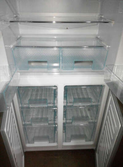 澳柯玛(AUCMA)BCD-392MNE 392升 十字对开四门冰箱 大空间 低能耗 钢化玻璃面板 晒单图