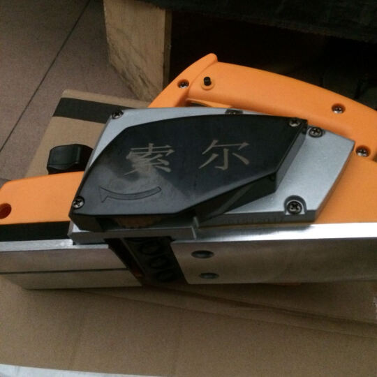 库菲电刨手提刨木工刨电刨子家用小型刨木工电动工具 电刨倒装 晒单图