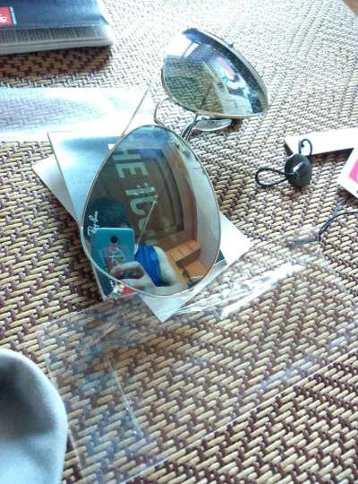 RayBan 雷朋太阳镜飞行员形蛤蟆镜酷炫潮流彩膜反光镜面护目镜0RB3025可定制 003/40银色镜框银色反光镜片 尺寸62 晒单图