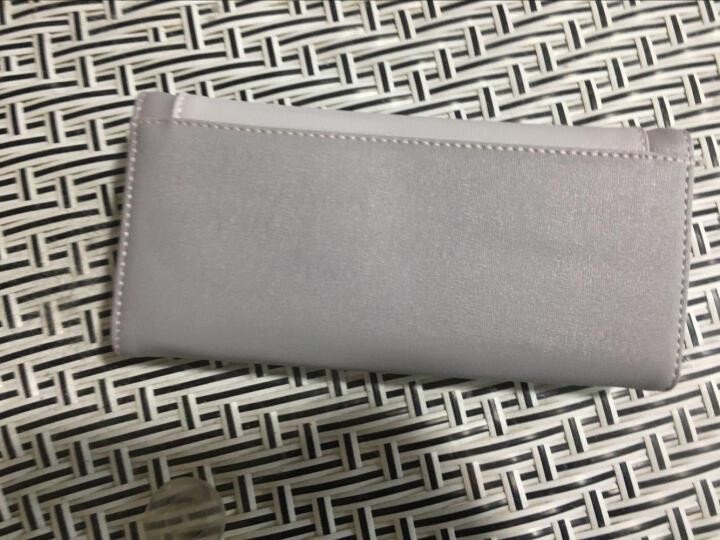 淑女芭莎(shunvbasha)女士长款钱包新品十字纹信封钱夹A511-39 粉红色 晒单图