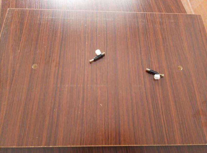 森故里 客厅茶几 简约茶几 现代茶几 钢化玻璃茶几 小户型创意茶几桌子 柚木色+白抽屉+白色钢化玻璃 长100*宽50*高41 晒单图