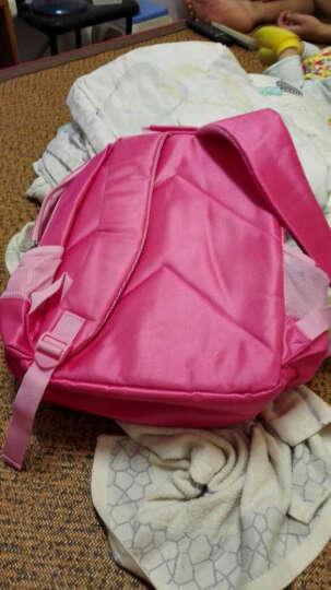 迪士尼(Disney)小学生儿童三层袋书包 男女孩米奇米妮冰雪奇缘减负护脊书包 送文具礼盒 超值款玫红色MB0333 晒单图