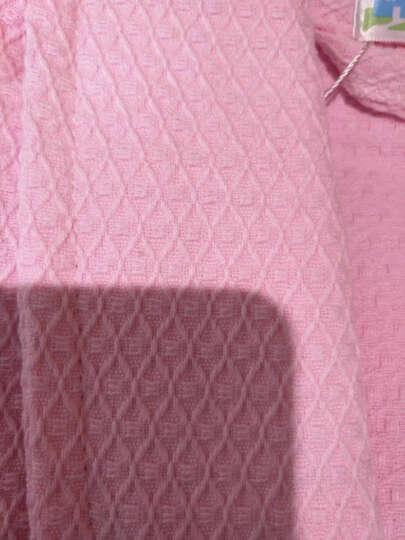 海利源 冬季浴袍纯棉毛巾料 男女士情侣全棉睡袍 酒店中长款浴衣 加厚秋 割绒红色 L(适合165-180cm) 晒单图