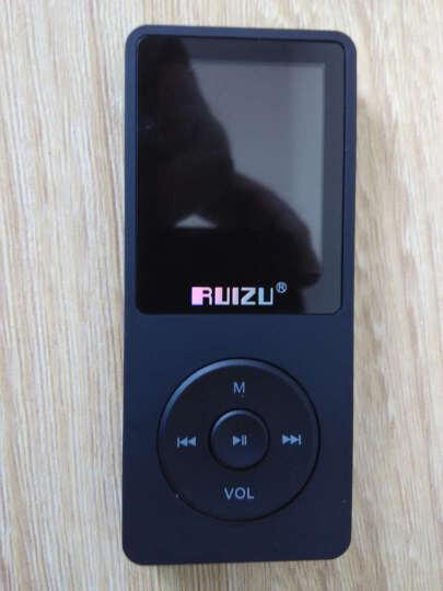 锐族(RUIZU) 运动MP3 MP4发烧高音质无损MP3 录音笔有屏幕MP3播放器 黑色  4G 晒单图