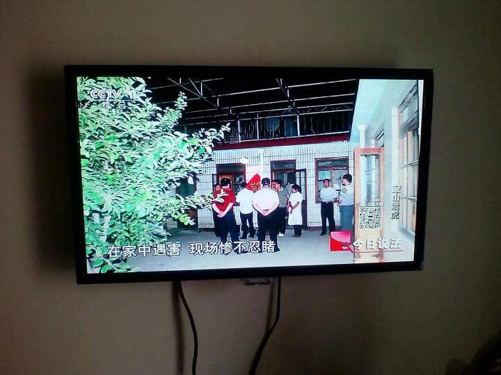 飞利浦(PHILIPS) 24英寸全高清LED液晶电视机 可做电脑显示器 显示屏 电视两用 黑色 底座+挂架 晒单图