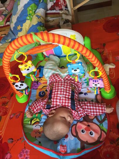 贝杰斯 婴儿健身架 早教益智0-1岁儿童脚踏钢琴音乐游戏毯宝宝玩具 多功能手推学步车 晒单图