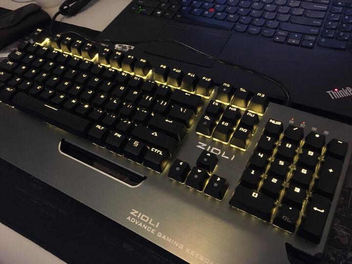 磁动力(ZIDLI) CK500机械键盘鼠标套装青轴lol笔记本游戏键鼠小智19302-jXsbp 暴走104键黑灰色青轴+牧马人二代黑鼠标 晒单图