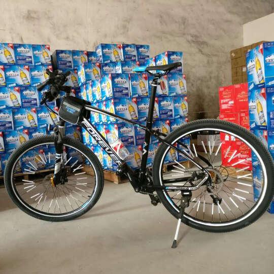 永久(FOREVER) 27速/30速自行车山地车 27.5寸铝合金/公路车成人单车A9乐途 高配 27速高配 黑蓝色(预售6月23日前发货) 27.5寸 晒单图